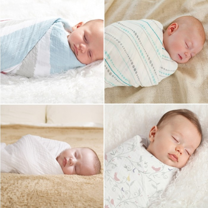Swaddling Baby For Sleep